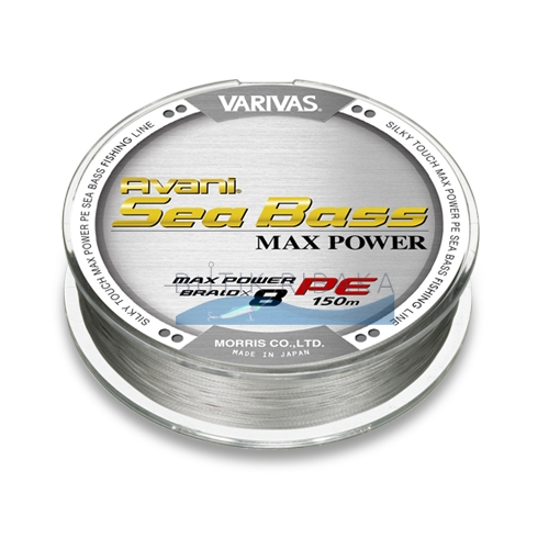Varivas AVANI SEA BASS MAX POWER PE new 0.8