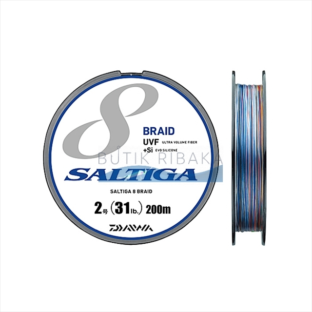 Плетеный шнур Daiwa Saltiga 8 Braid New #1