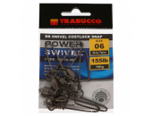 КАРАБИН С ВЕРТЛЮГОМ TRABUCCO POWER BB SWIVEL №06