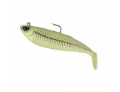 ДЖИГ ОСНАЩЕННЫЙ SAVAGE GEAR CUTBAIT HERRING 460ГР (GREEN GLOW)